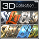 3D Collection Text Effects GO.1 - GraphicRiver Item for Sale