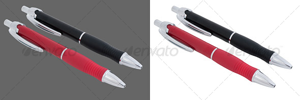 GraphicRiver Black and Red Pen 37335