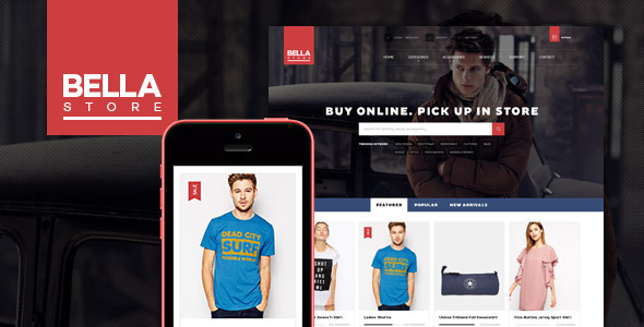 ThemeForest Pts Bella Prestashop Theme 8902353