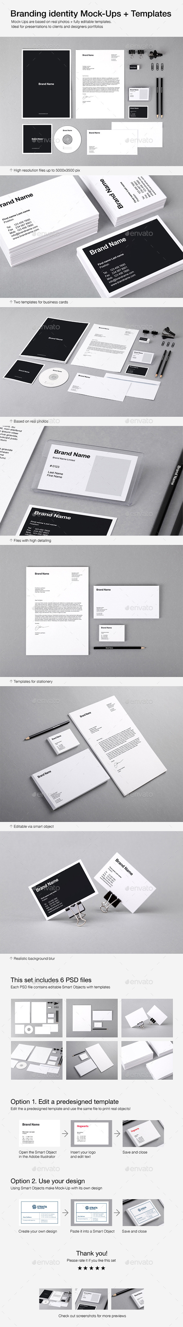 GraphicRiver Branding Identity Mock-Ups and Templates 8905239