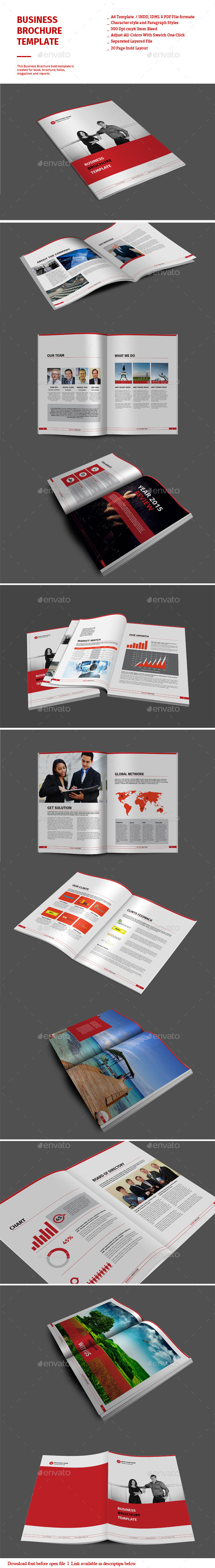 GraphicRiver Business Brochure Templates 8895410