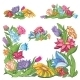 Bright Flowers - GraphicRiver Item for Sale