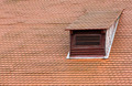 Dormer window and red roof tiles - PhotoDune Item for Sale