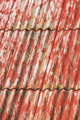 Red painted asbestos roof - PhotoDune Item for Sale