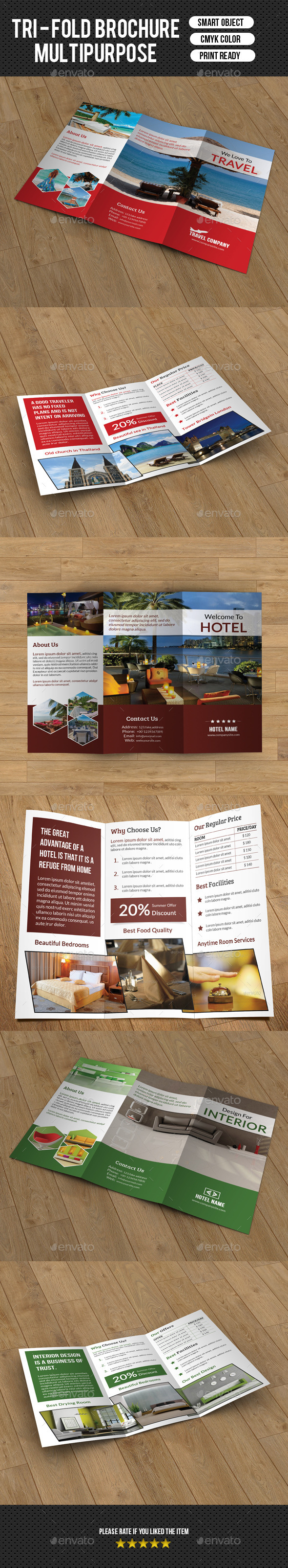 GraphicRiver Multipurpose Business Trifold-V69 8905862