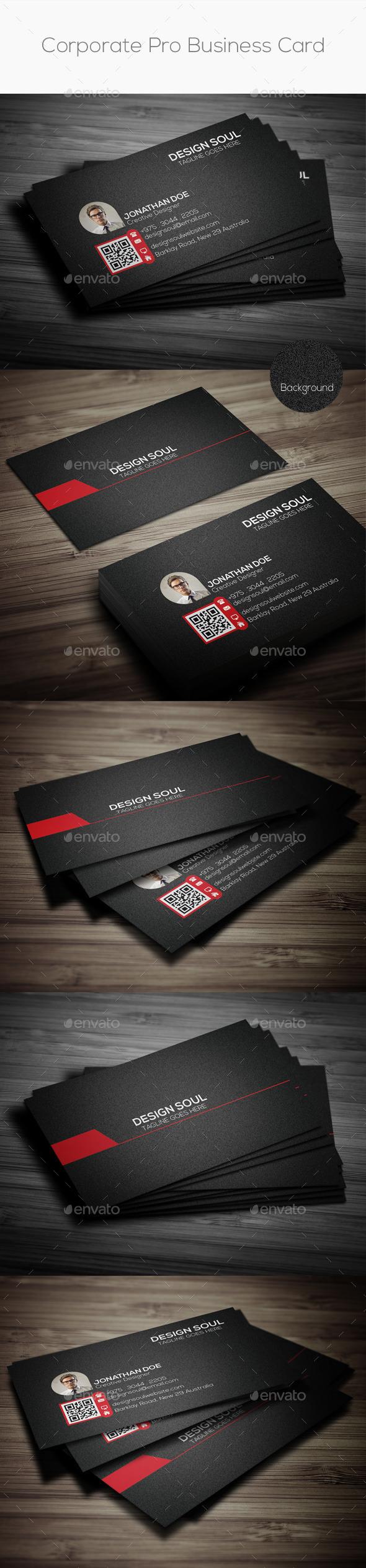 GraphicRiver Corporate Pro Business Card 8906327