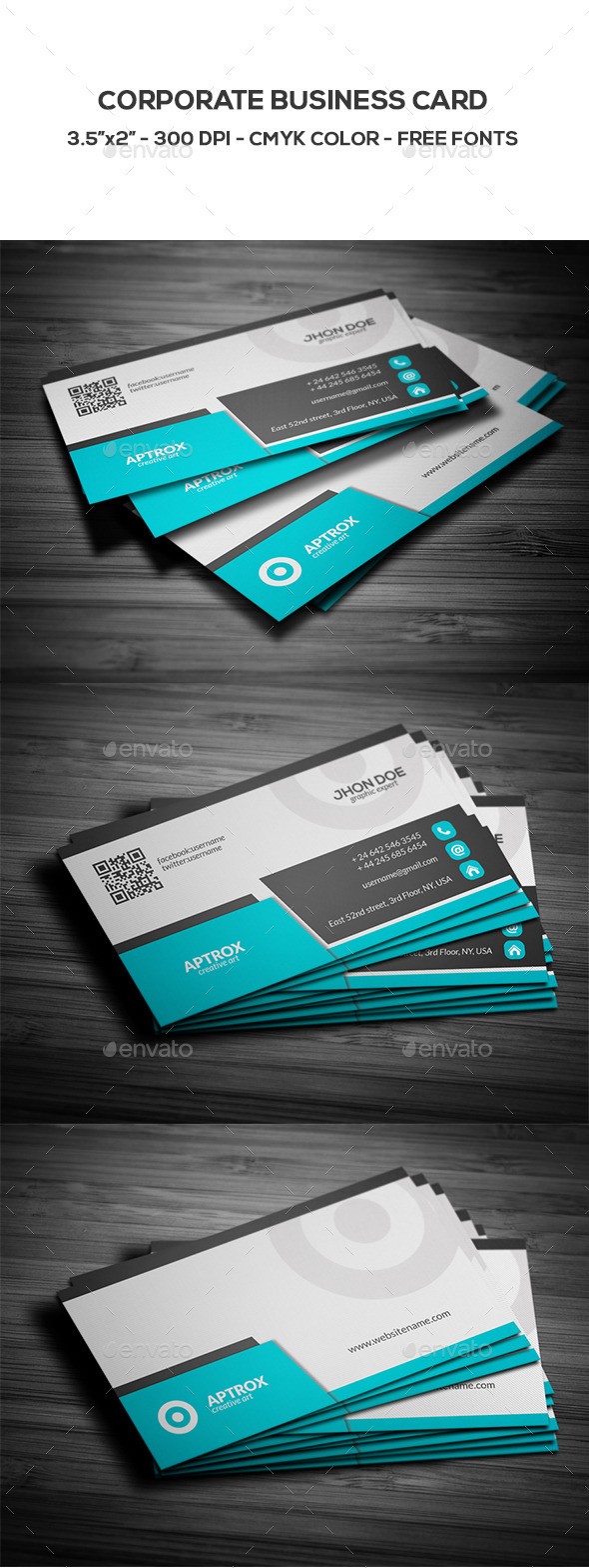 GraphicRiver Corporate Business Card 8906339