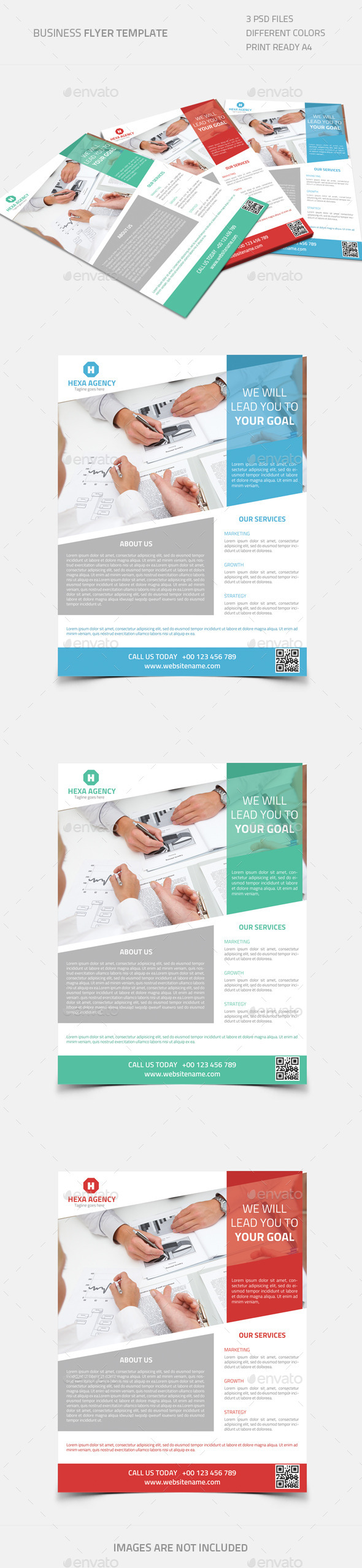 GraphicRiver Business Flyer 01 8906383