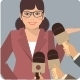 Person Giving the Interview - GraphicRiver Item for Sale