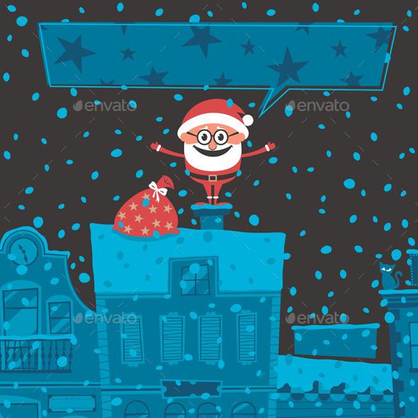 GraphicRiver Christmas Card 6 8906584