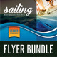 3 in 1 Sailing Yacht Travel Flyers Bundle - GraphicRiver Item for Sale