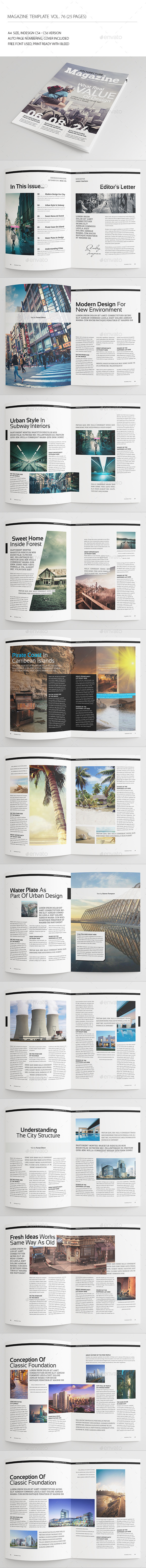 GraphicRiver 25 Pages Architect Magazine Vol76 8906851
