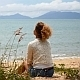 Female Relaxing at Beach - VideoHive Item for Sale