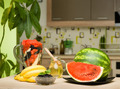 healthy fruits on kitchen table - PhotoDune Item for Sale