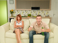 couple watching television - PhotoDune Item for Sale