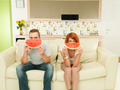 funny watermelon faces - PhotoDune Item for Sale