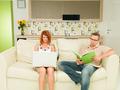 couple reading - PhotoDune Item for Sale