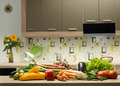 assortment of vegetables on kitchen table - PhotoDune Item for Sale