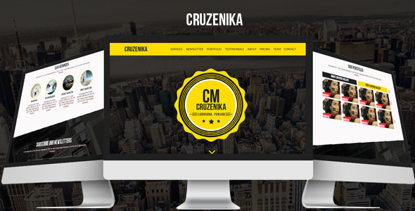 ThemeForest Cruzenika Creative Parallax Muse Template 8907049
