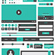 Flat Design Web Collection - GraphicRiver Item for Sale