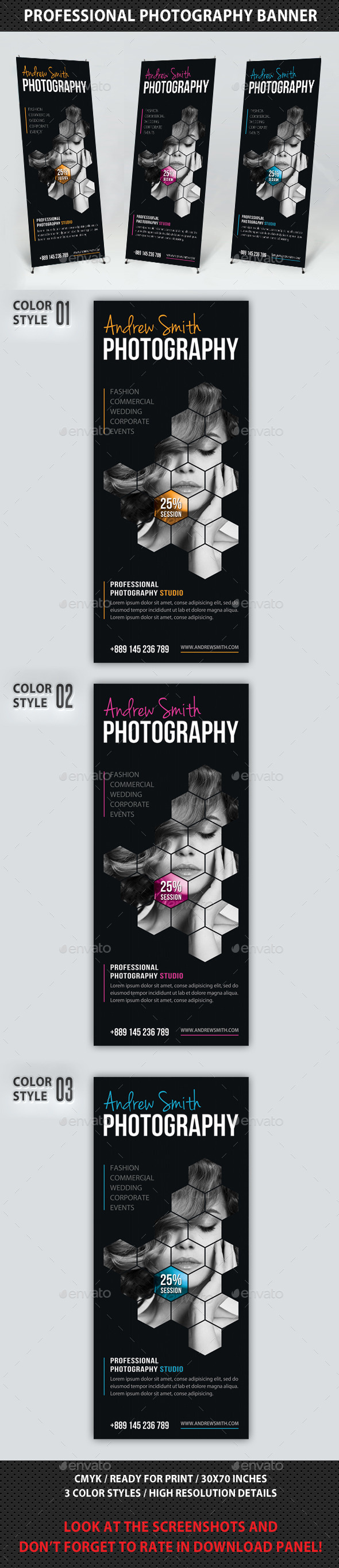 GraphicRiver Photography Studio Multipurpose Banner 12 8907983
