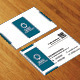 Modern Corporate Business Card AN0486 - GraphicRiver Item for Sale