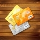 Set of Detailed Glossy Credit Cards - GraphicRiver Item for Sale