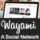 Wayami Skin (A Social Network) - CodeCanyon Item for Sale