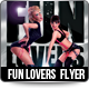 Fun Lovers Flyer Template - GraphicRiver Item for Sale