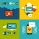 Flat Design Concept Icons for Web and Mobile - GraphicRiver Item for Sale
