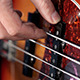 Bass Player Playing With Strings - VideoHive Item for Sale