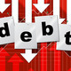 Debts Debt Shows Liability Financial And Owning - PhotoDune Item for Sale