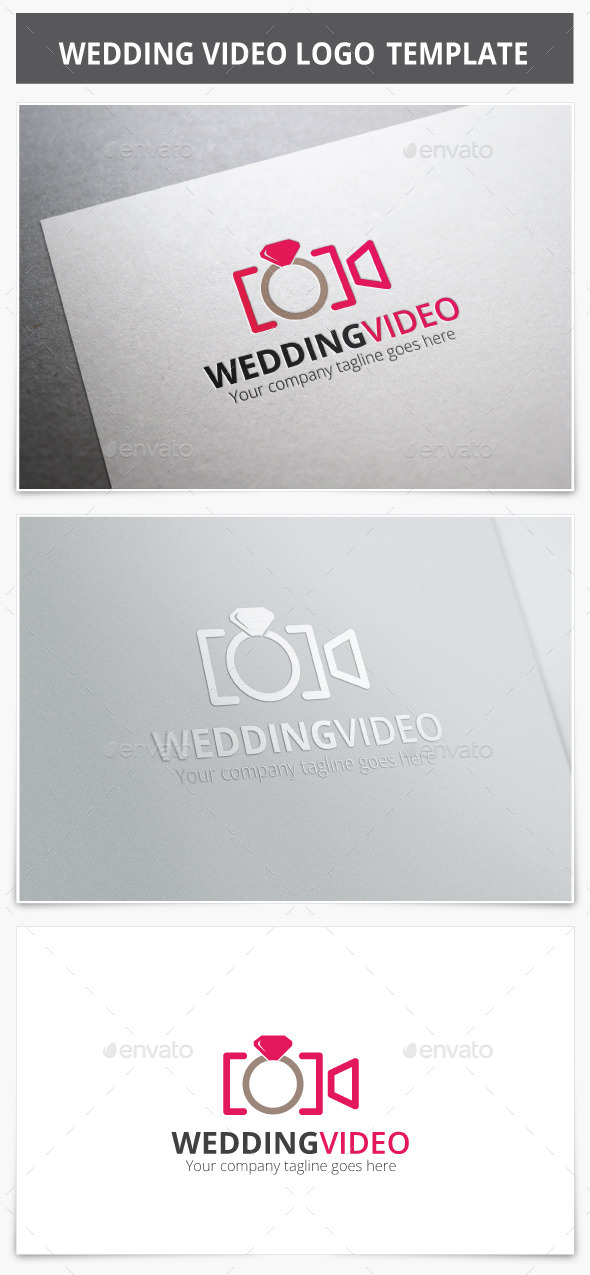 GraphicRiver Wedding Video Logo 8911220