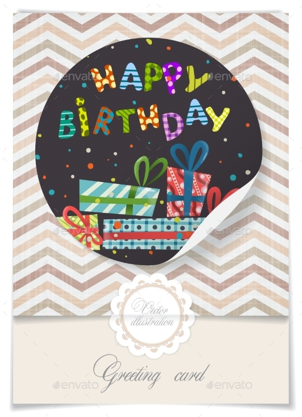 GraphicRiver Greeting Card Design Template 8911299