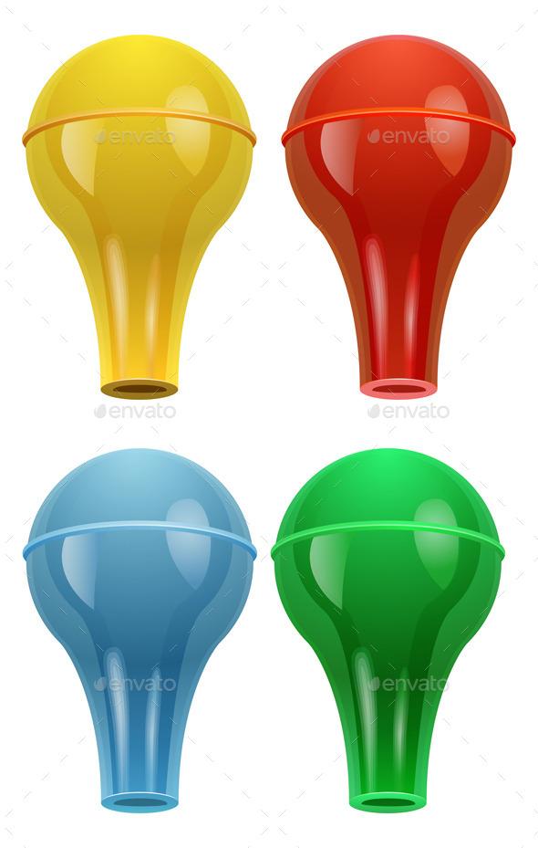 GraphicRiver Chemistry Apparatus Rubber Bulb Illustration 8911355