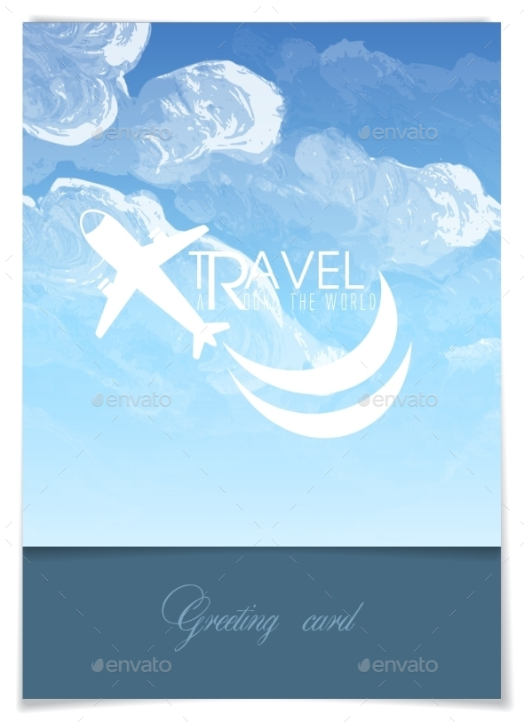 GraphicRiver Greeting Card Design Template 8911369