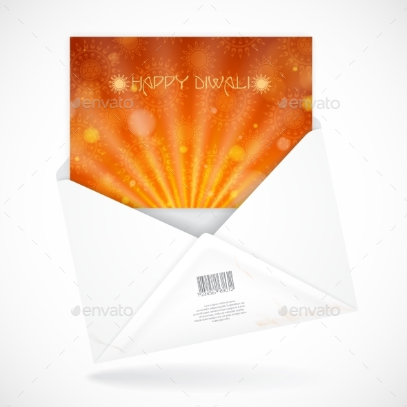 GraphicRiver Postal Envelopes With Greeting Card 8911404