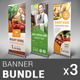 Restaurant Business Banner Bundle | Volume 4 - GraphicRiver Item for Sale