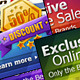 Web Banners Ads & Website Header - GraphicRiver Item for Sale