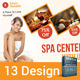 Spa & Beauty Saloon Mega Bundle | Volume 1 - GraphicRiver Item for Sale