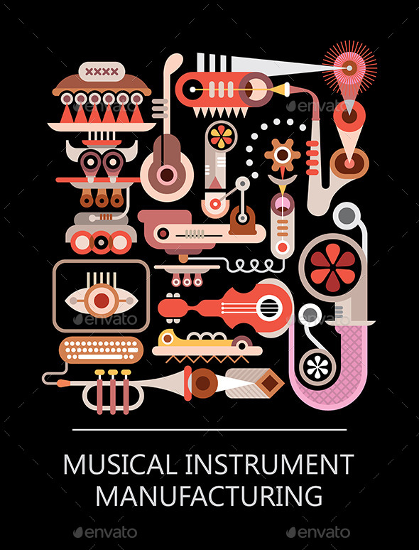 GraphicRiver Musical Instrument Manufacturing 8913102