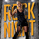 Rock Night Party Flyer Template - GraphicRiver Item for Sale