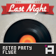 Retro Party Flyer - Vol.4 - GraphicRiver Item for Sale