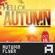 Autumn Party Flyer - Vol.1 - GraphicRiver Item for Sale