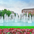 Beautiful fountain in the center of Mannheim Germany - PhotoDune Item for Sale