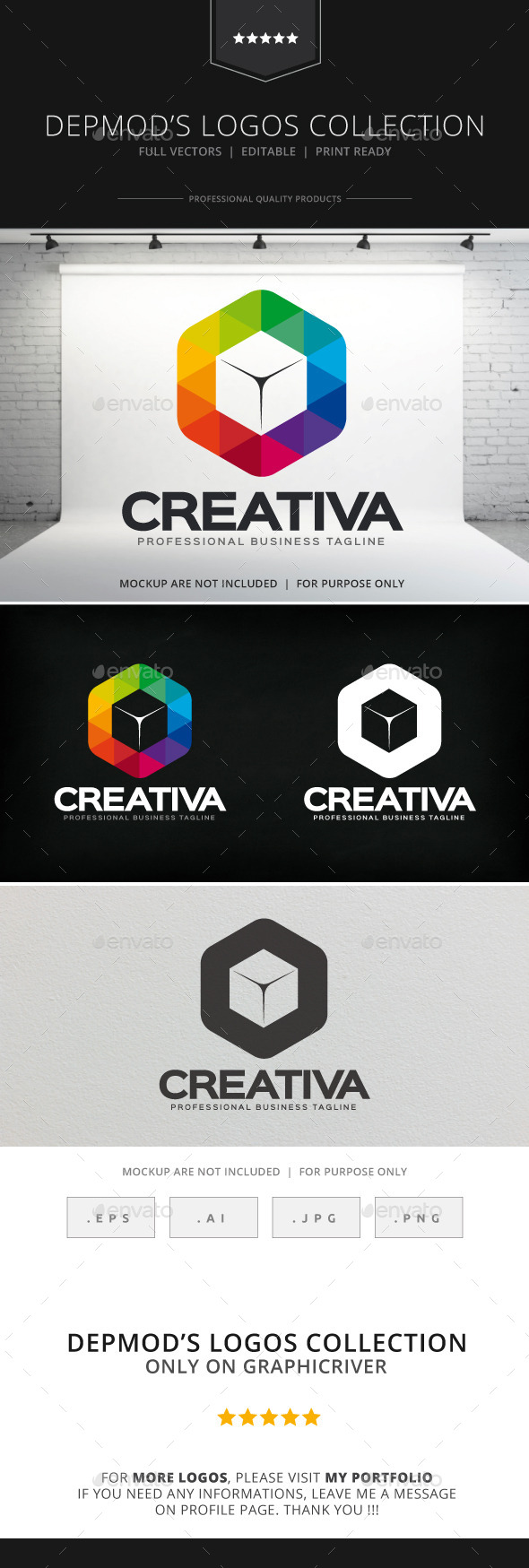 GraphicRiver Creativa Logo 8913381
