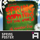 Spring Party Flyer - Vol.1 - GraphicRiver Item for Sale