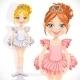 Ballerina Girl in Tiara  - GraphicRiver Item for Sale