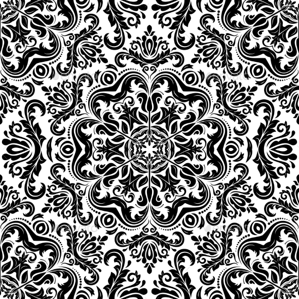 GraphicRiver Orient Seamless Vector Pattern 8913958