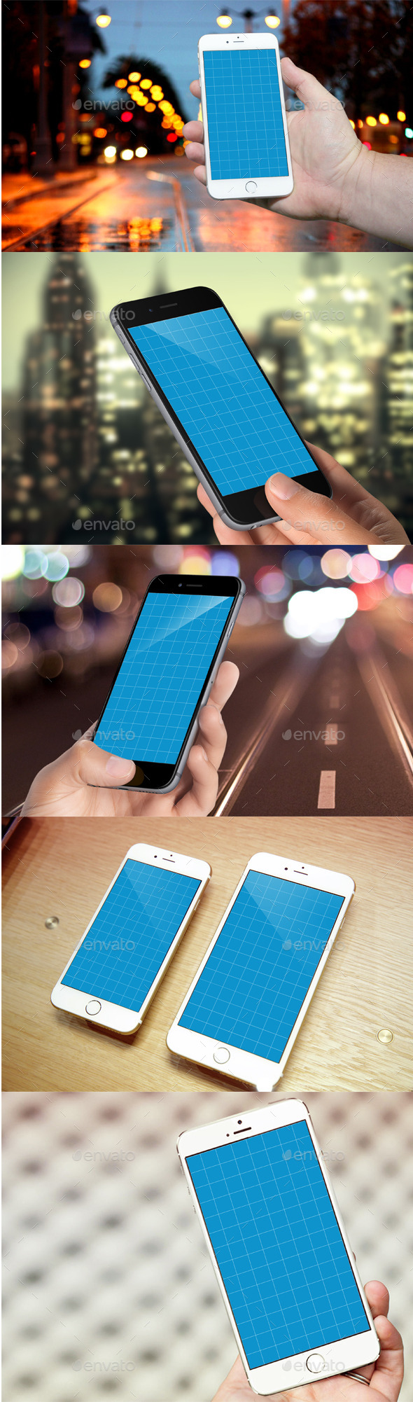 GraphicRiver Phone 6 Realistic Photo Mockups 8898994
